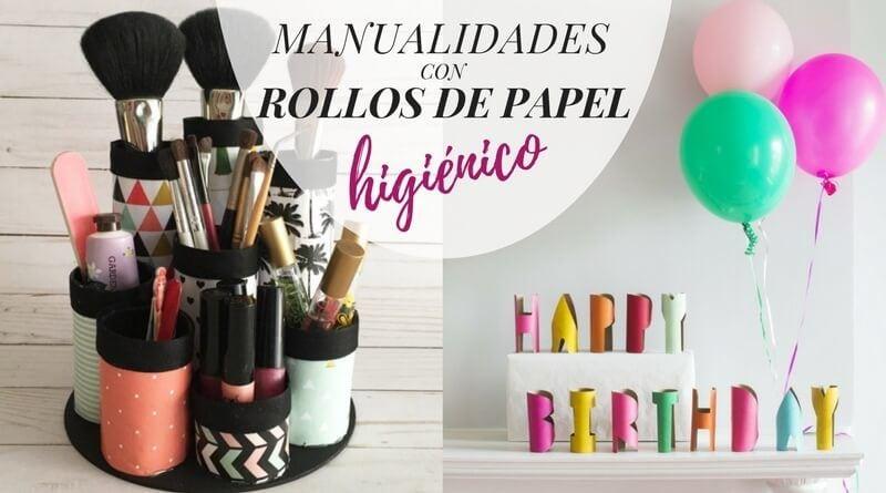 La cartera rota diy ideas de decoraci n consejos para - Manualidades con rollos de papel higienico para decorar ...