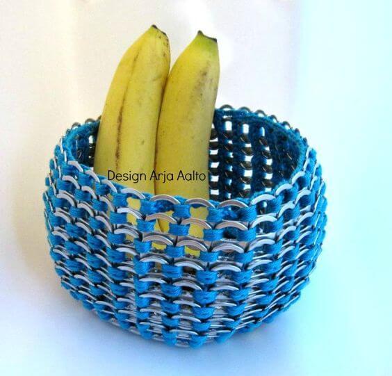 Bowl hecho con anillas