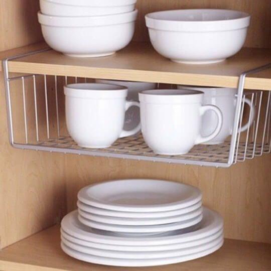 Cómo organizar los armarios de la cocina