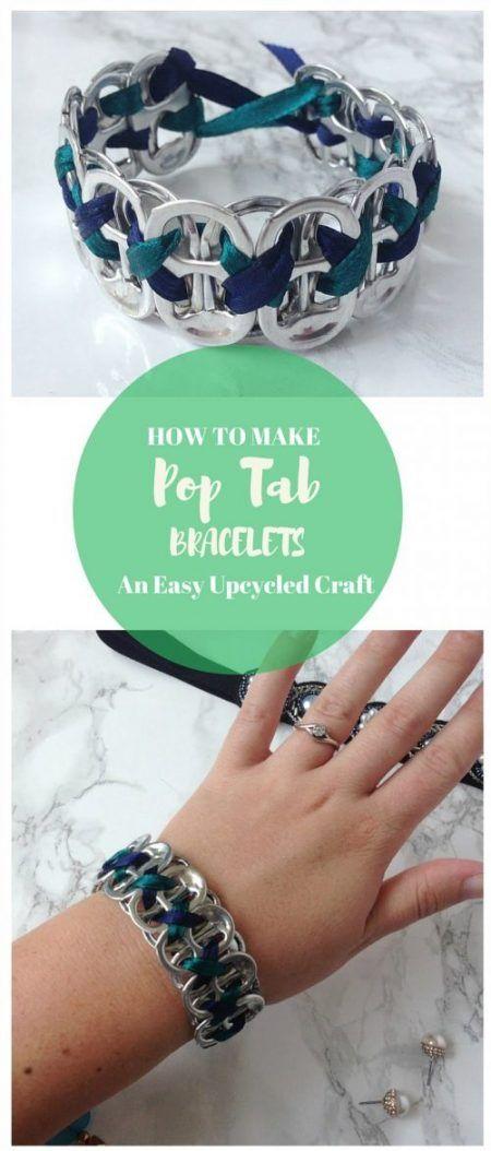 Hacer manualidades con anillas de latas