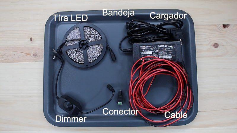 Cómo hacer un panel LED - componentes