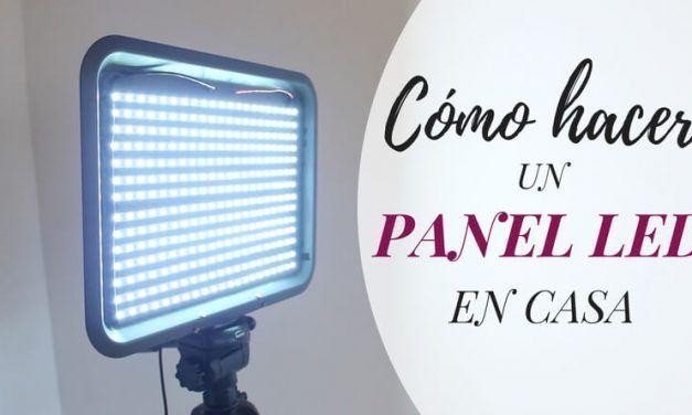 Cómo hacer un panel LED en casa