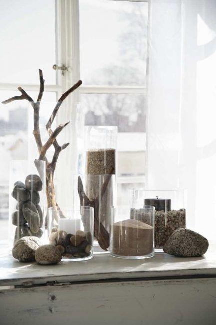 Decorar la casa con piedras