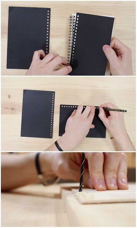 Hacer portadas de madera para el cuaderno