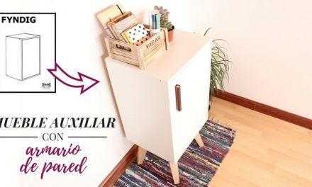 Haz un mueble auxiliar con un armario de pared FYNDIG