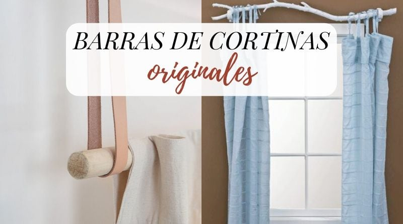 Barras de cortinas originales