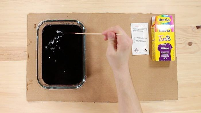 Aplicar el tinte