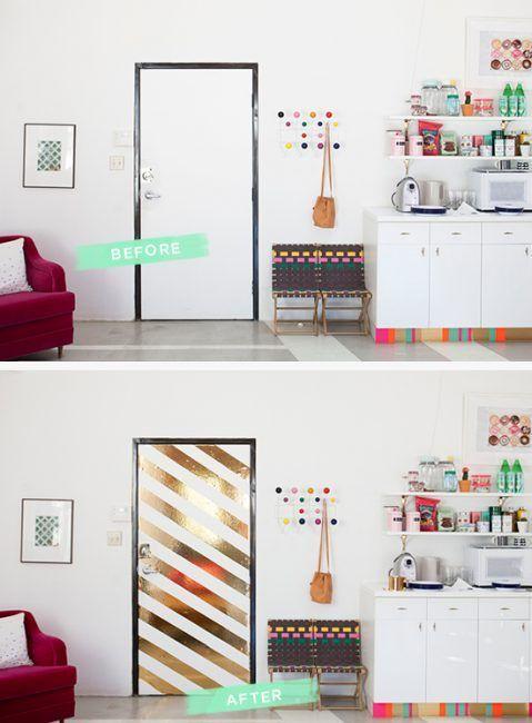 Cómo decorar puertas interiores