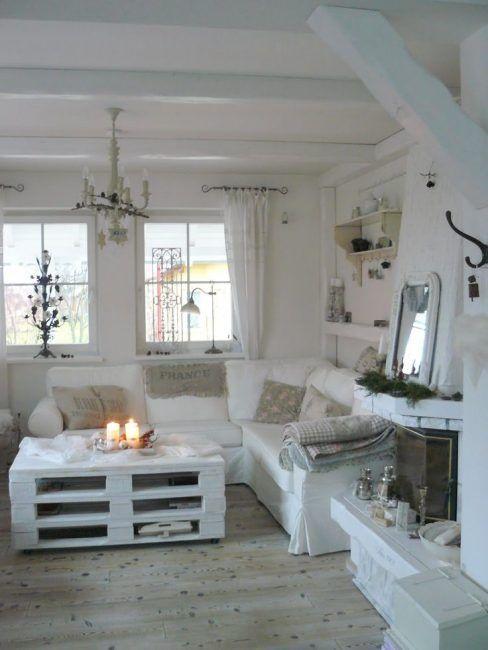 Decoración del hogar con palets