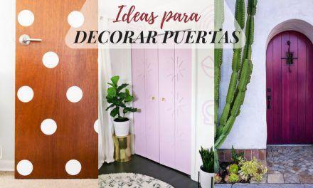 Ideas para decorar las puertas de tu casa