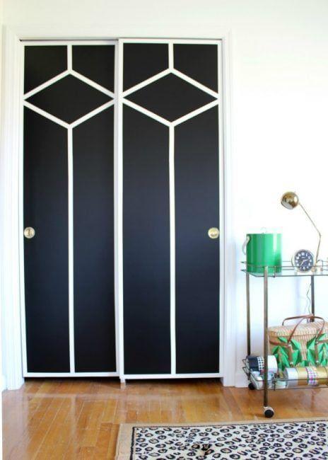 Pintar las puertas del armario