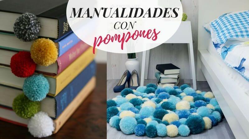 Manualidades con pompones