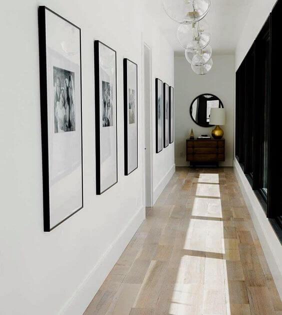 Decoración de pasillos modernos