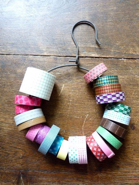 Percha para guardar washi tapes