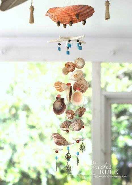 DIY con conchas de mar