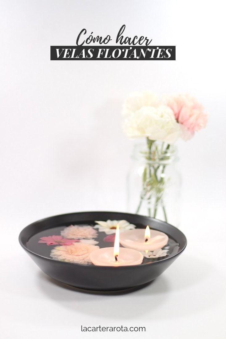 Hacer velas flotantes