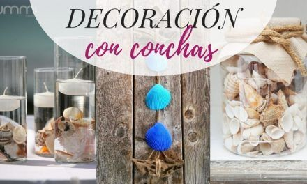 10 ideas de decoración con conchas