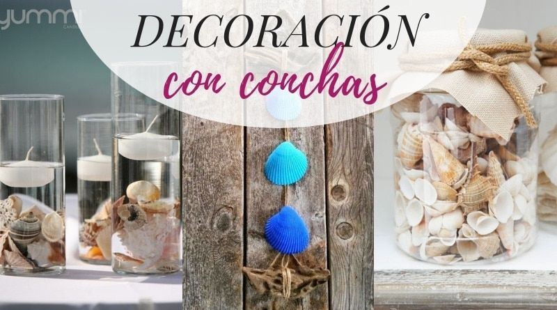 Ideas de decoración con conchas
