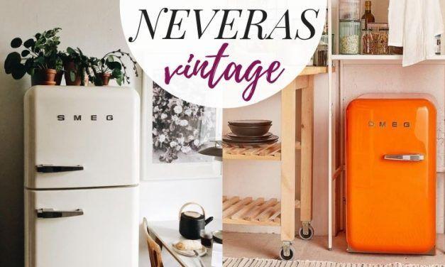 15 neveras vintage de las que enamorarte