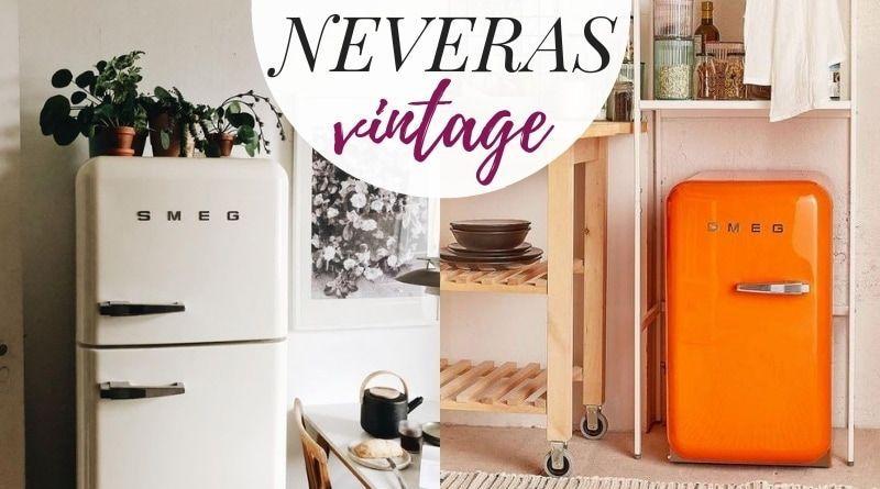 Ejemplos de neveras vintage