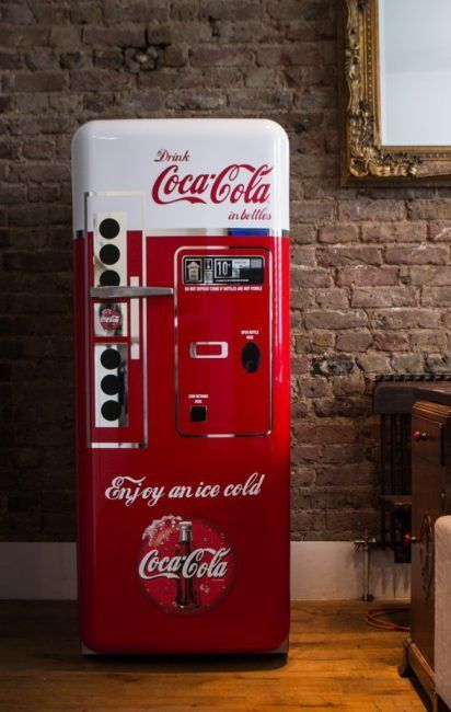 Nevera coca-cola retro
