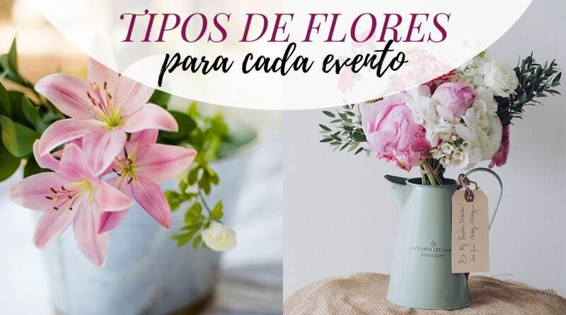 Tipos de flores para cada evento