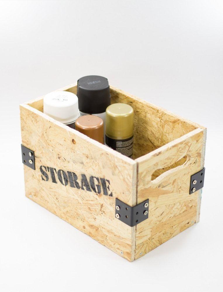 Construye tu propia caja de madera