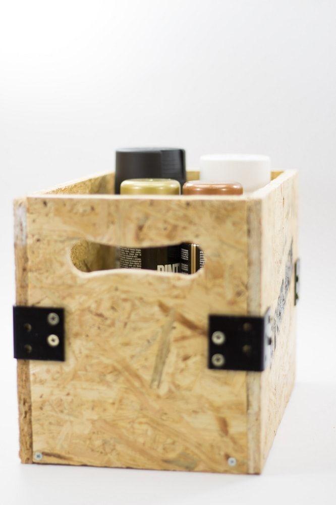 Decorar con cajas de madera