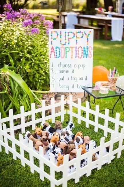 Peluches para decorar una fiesta infantil