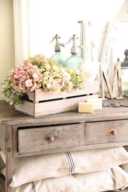 Caja de frutas para decorar
