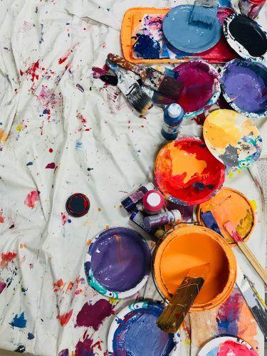 Consejos para pintar manualidades