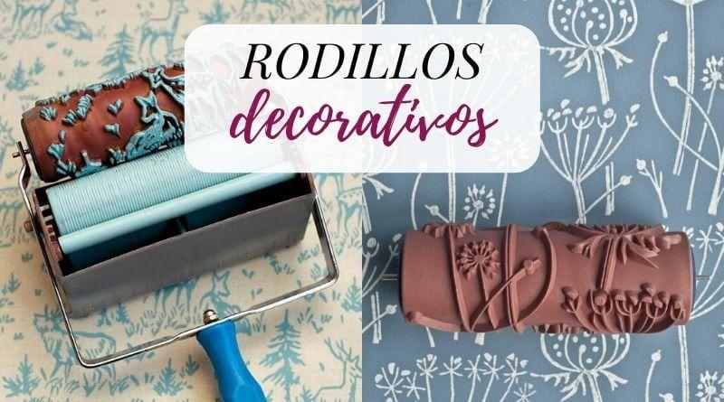 Rodillos texturizados para pintar paredes