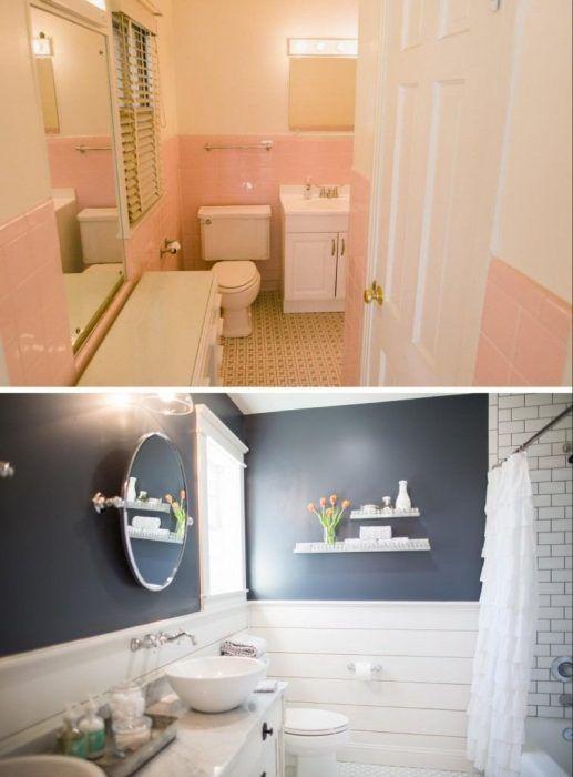 Cambio de aspecto en un cuarto de baño