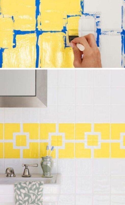 Pintar azulejos con diseño