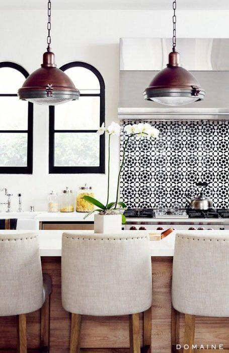 Modernizar las paredes con azulejos de vinilo
