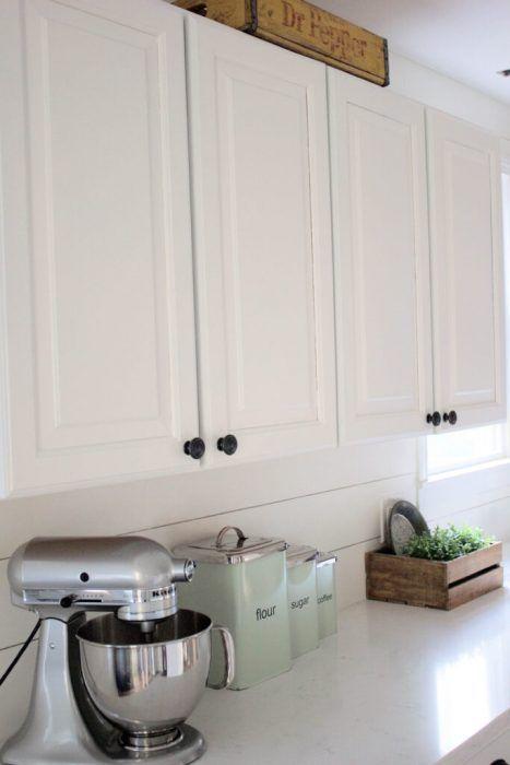 Pintar los armarios de la cocina