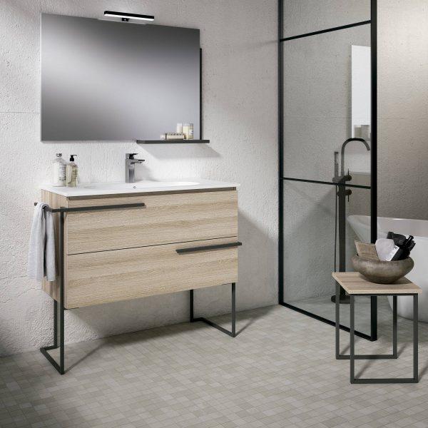 Mueble de estilo industrial
