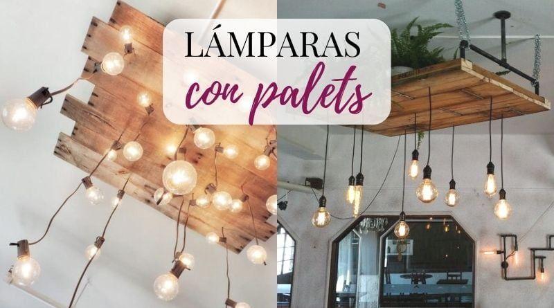 Lámparas con palets