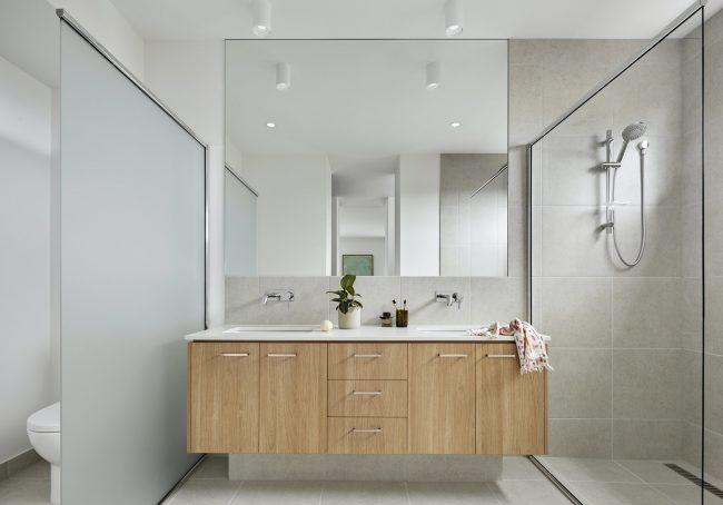 Muebles modernos para el baño