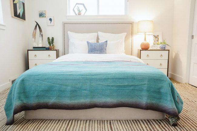 Decorar dormitorio con el uso de una colcha