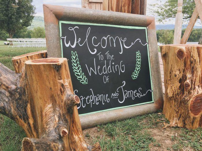 Carteles decorativos para bodas