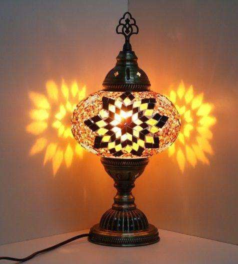 Lámpara elegante ovalada