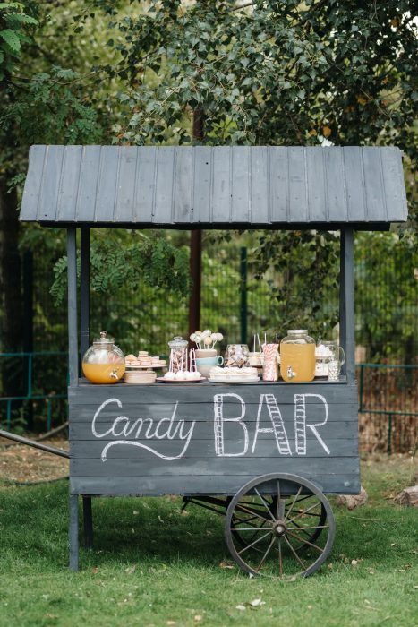 Mini bar para bodas
