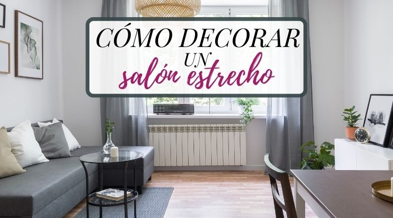 Cómo decorar un salón rectangular estreco