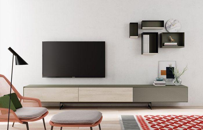 Mueble estrecho para tv